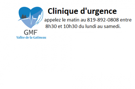 Clinique d'urgence GMF V-G